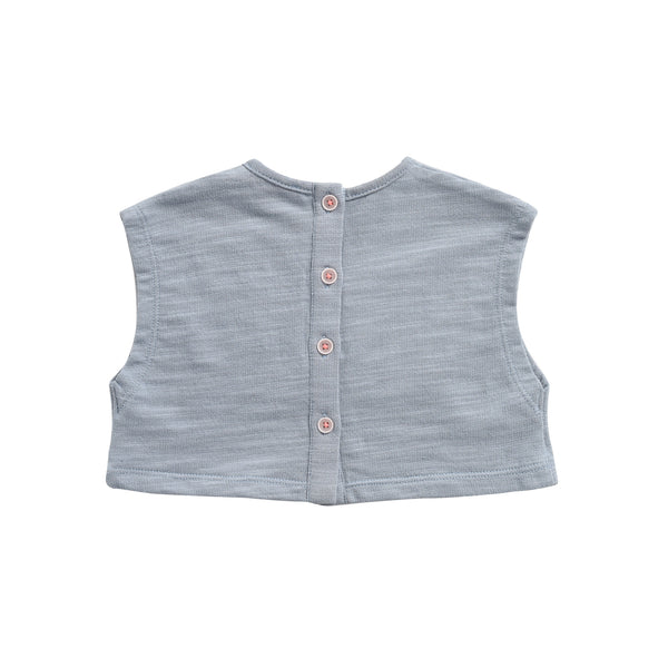 Girls Silver Cloud Cotton Sweat