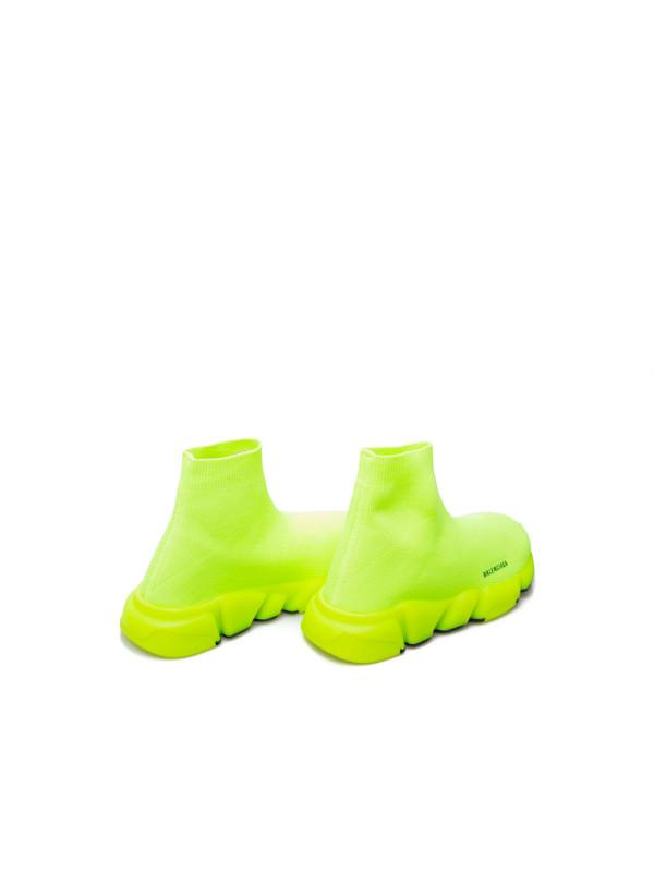 Boys & Girls Fluo Yellow Shoes