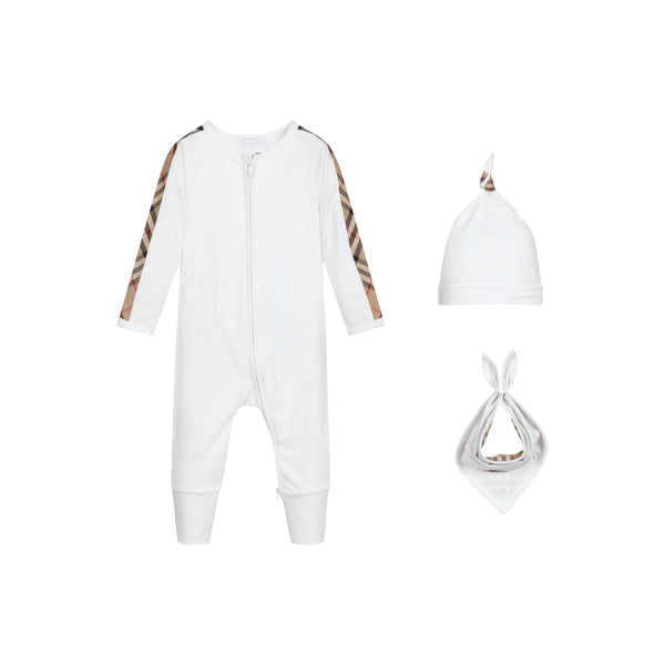 Baby Boys & Girls White 4 Piece Gift Set