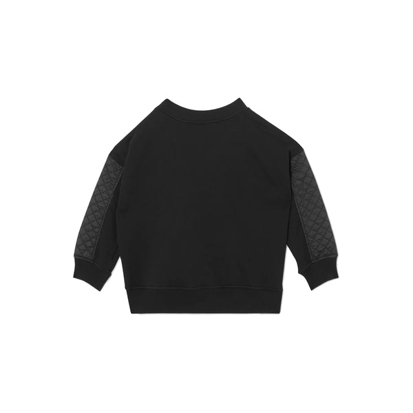 Boys & Girls Black Logo Sweatshirt
