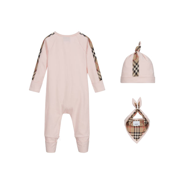 Baby Boys & Girls Pink 4 Piece Gift Set