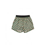 Girls Mint & Pink Woven Shorts
