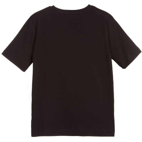 Boys Black Logo T-shirt