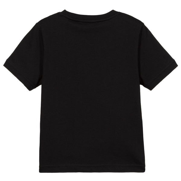 Boy & Girls Black Logo T-Shirt
