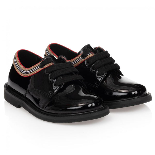 Boys & Girls Black Shoes