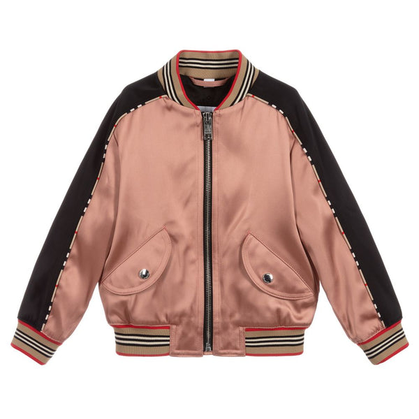 Girls Dusty Pink Jacket