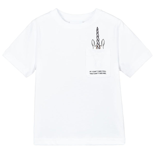 Boys & Girls White T-Shirt