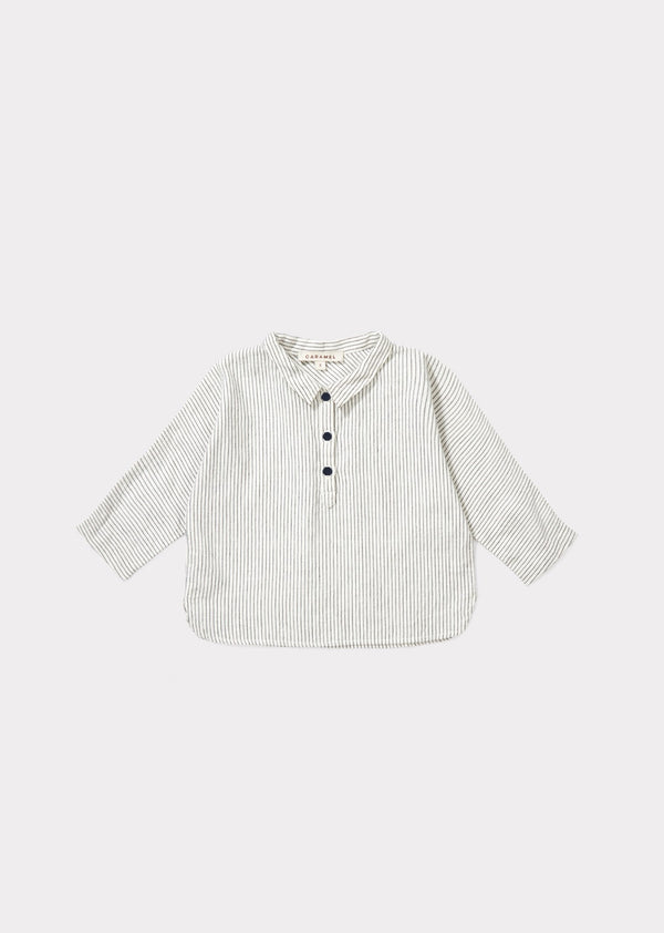 Baby Ecru Striped Shirt