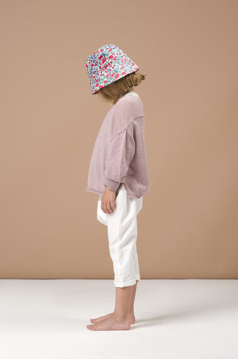 Boys Light Pink Wool Knitted Sweater - CÉMAROSE | Children's Fashion Store - 2