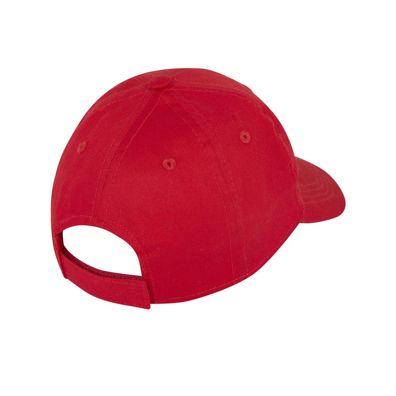 Boys Red Logo Cap