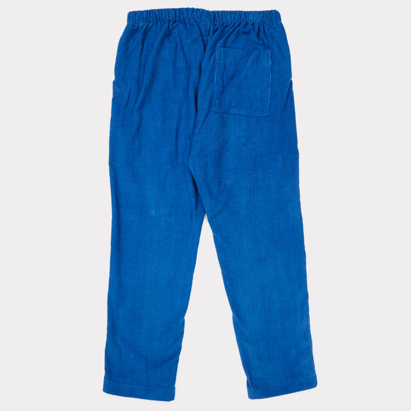 Boys & Girls Lapis Blue Cotton Trousers