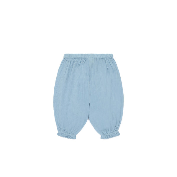 Baby Blue Cotton Trousers