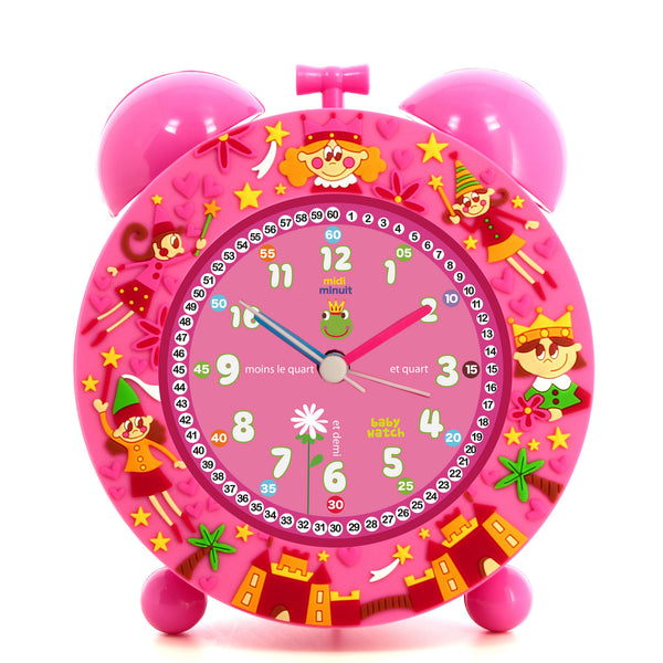 Girls Pink Alarm Clock