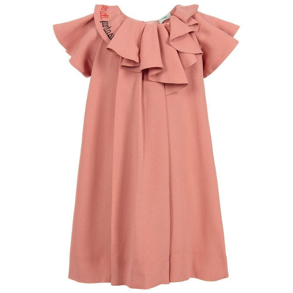 Girls Rosa Antico Dress