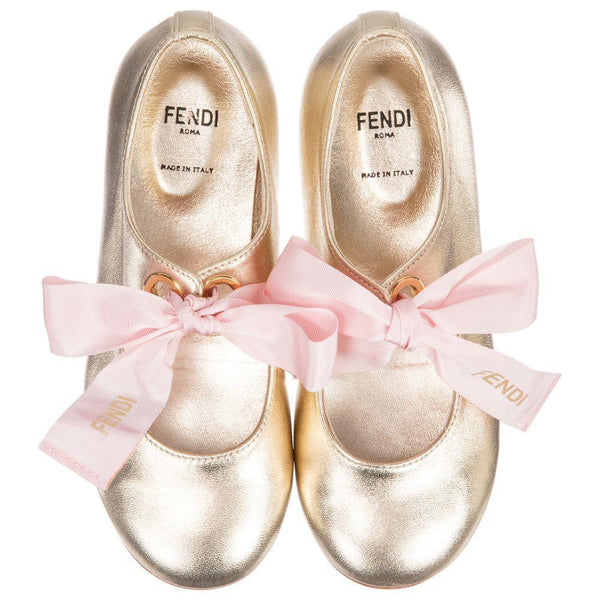 Girls Champagne Shoes