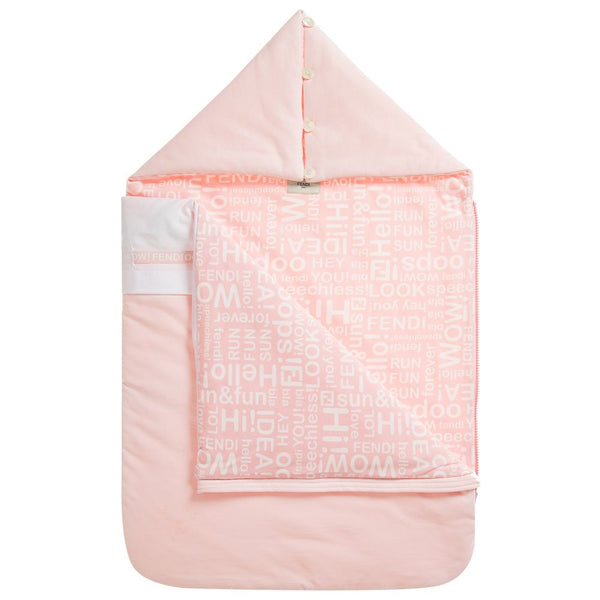 Baby Girls Pink Cotton Sleeping Bag