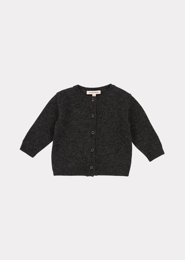 Baby Boys & Girls Charcoal Gadwall Cardigan