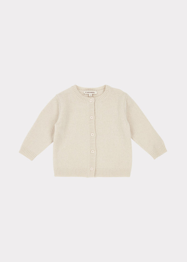 Baby Boys & Girls Cream Gadwall Cardigan