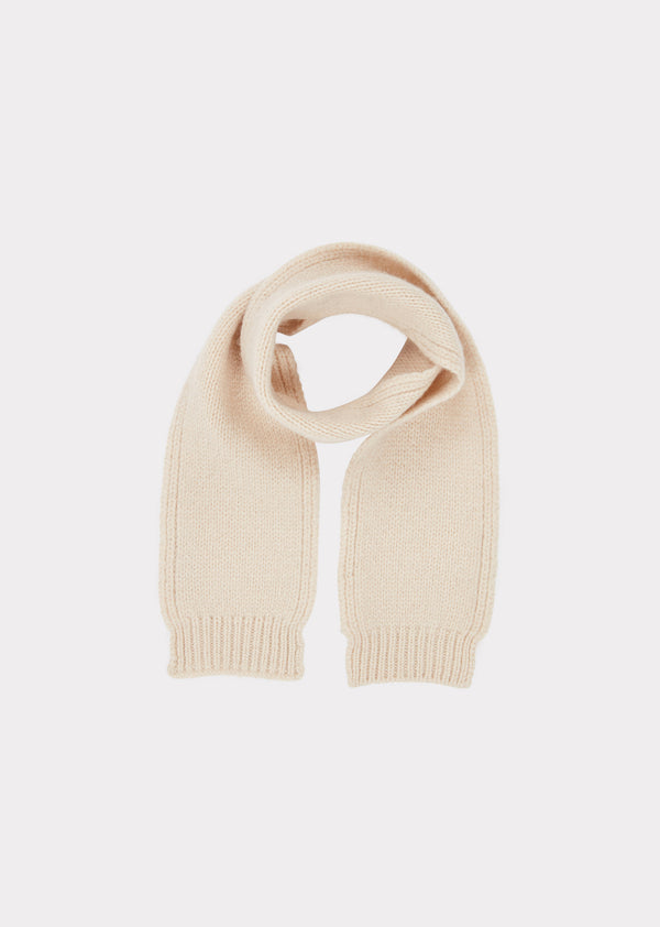 Baby boys & Girls Cream Greenfinch Scarf