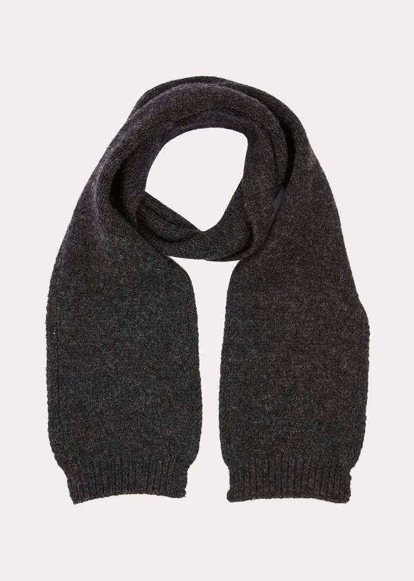 Boys & Girls Charcoal Greenfinch Scarf