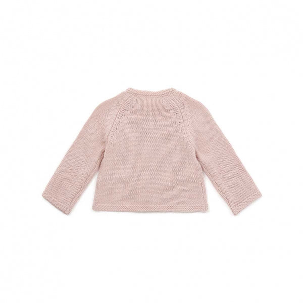 Baby Girls Light Pink Cardigan