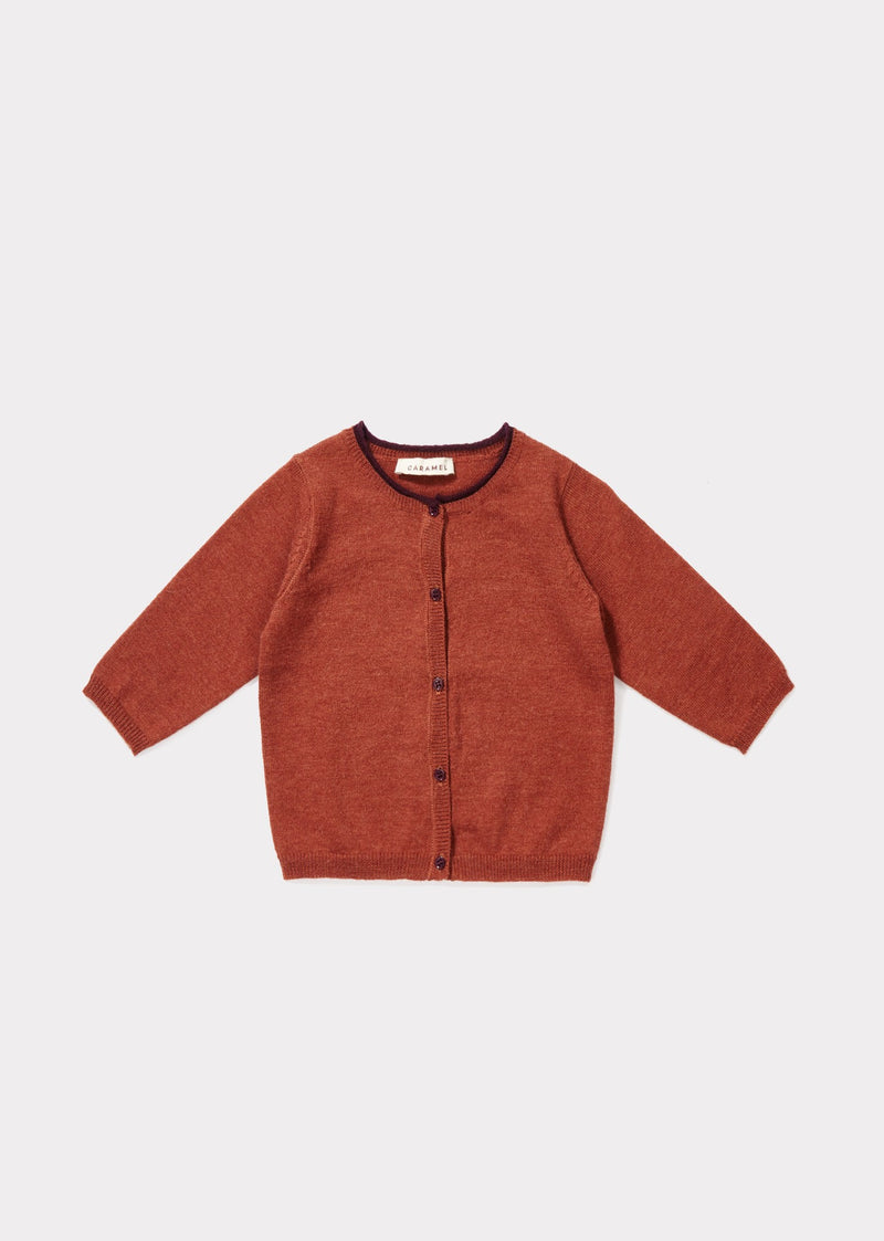 Baby Red Knitted Cardigan
