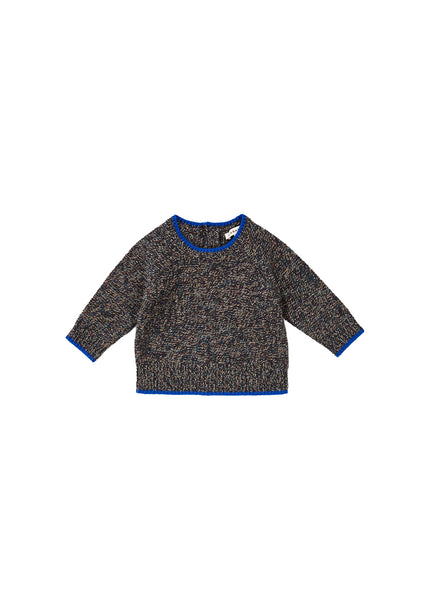 Baby Boys & Girls Dark Grey Wool Sweater