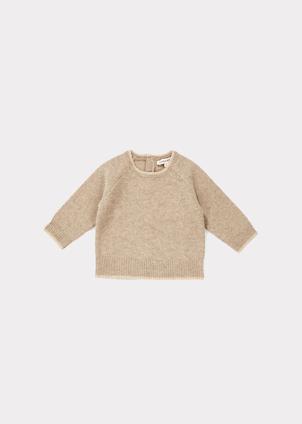 Baby Boys khaki Wool Sweater