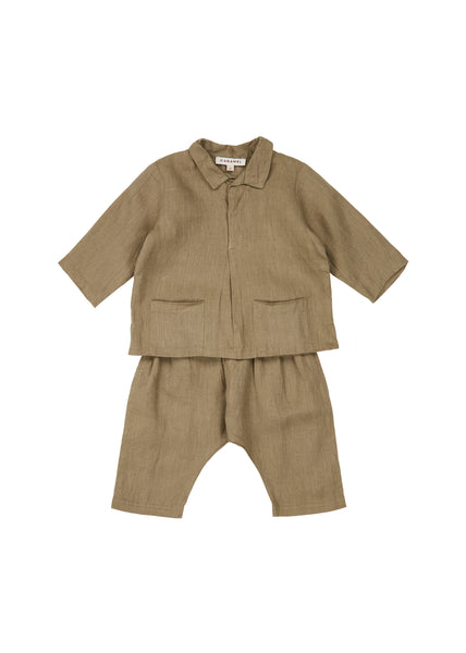 Baby Boys & Girls Dark Green Set