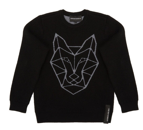 Boys Black Sweater