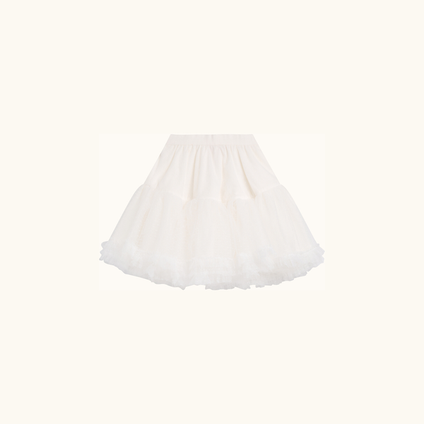 Girls Off White Skirt