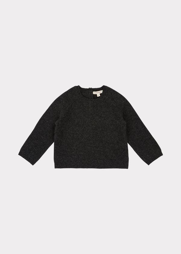 Baby Boys & Girls Charcoal Jay Jumper