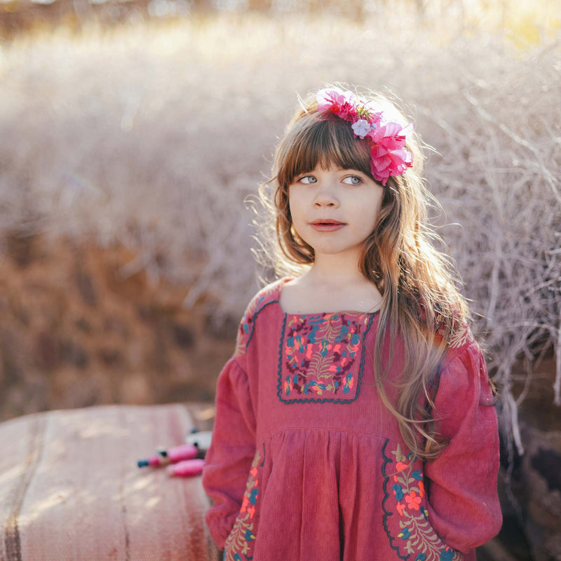 "Girls Pink ""Terlingua""  Dress"