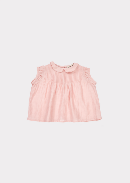 Baby Girls Pink Cotton Top