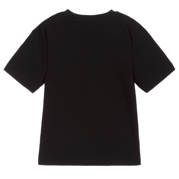 Boys & Girls Black T-Shirt