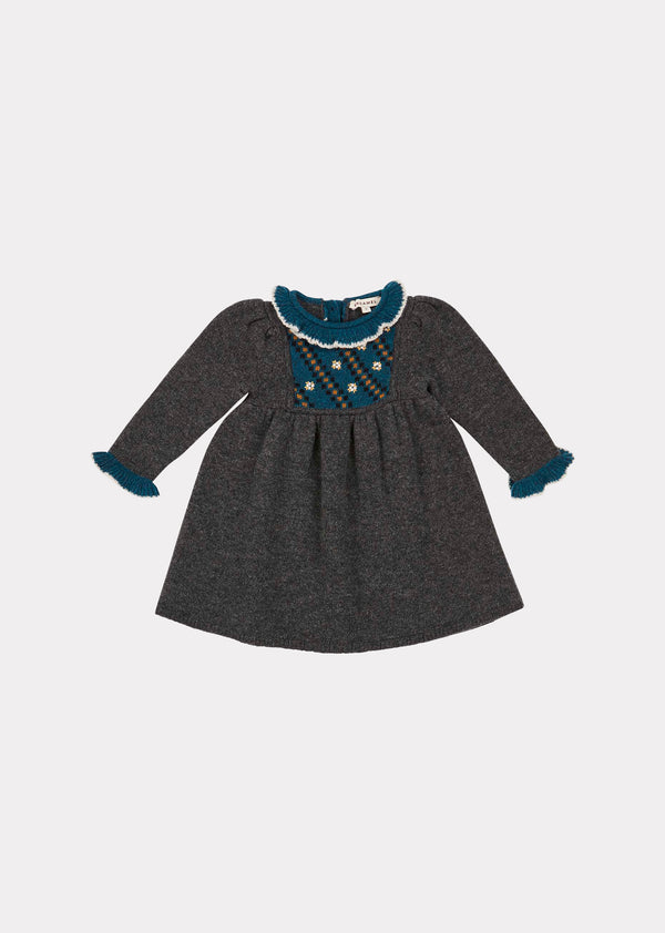 Baby Girls Charcoal Nightingale Dress