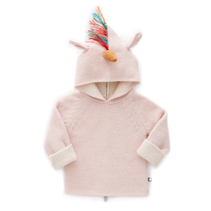 Boys & Girls It Pink unicorn hoodie
