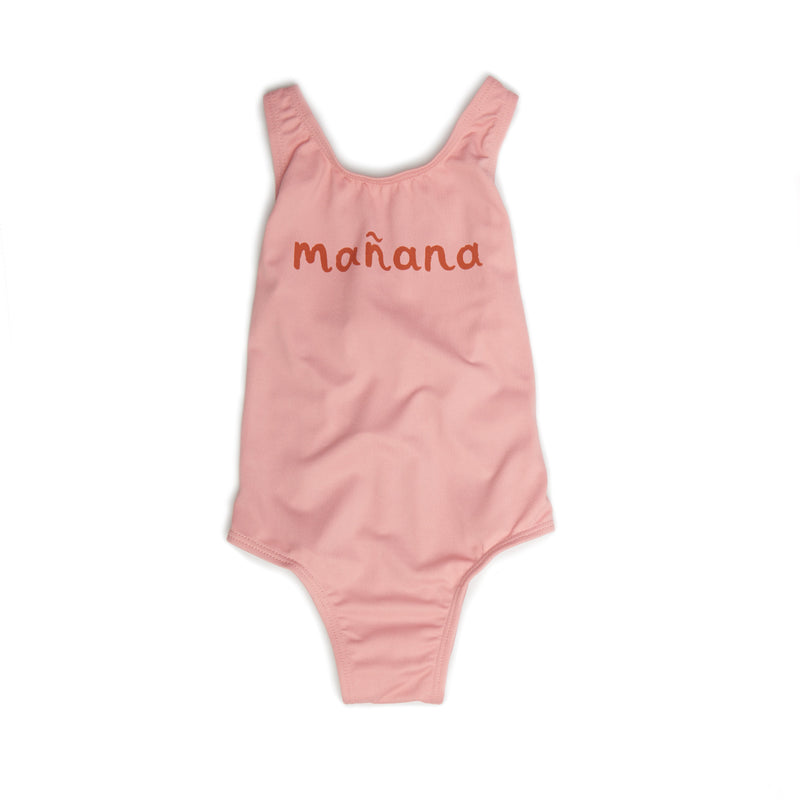 "Girls Rose ""Manana"" Tank Swimsuit"