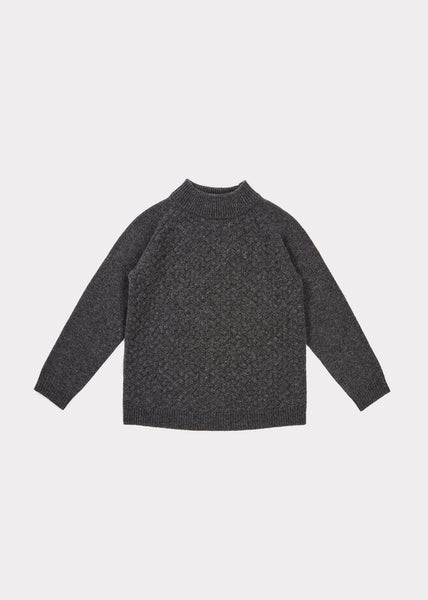 Boys & Girls Grey Cashmere Sweater