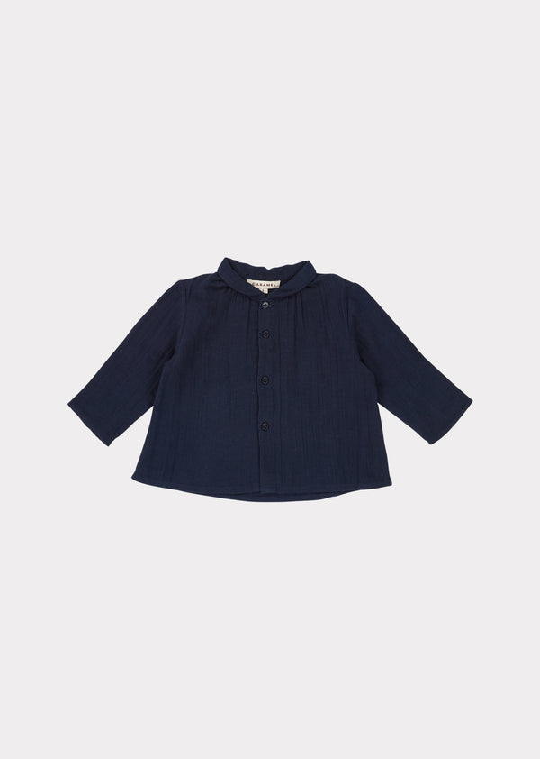 Baby Boys & Girls Dark Navy Raven Shirt