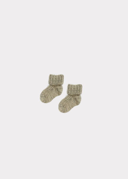 Baby Soft Grey Socks