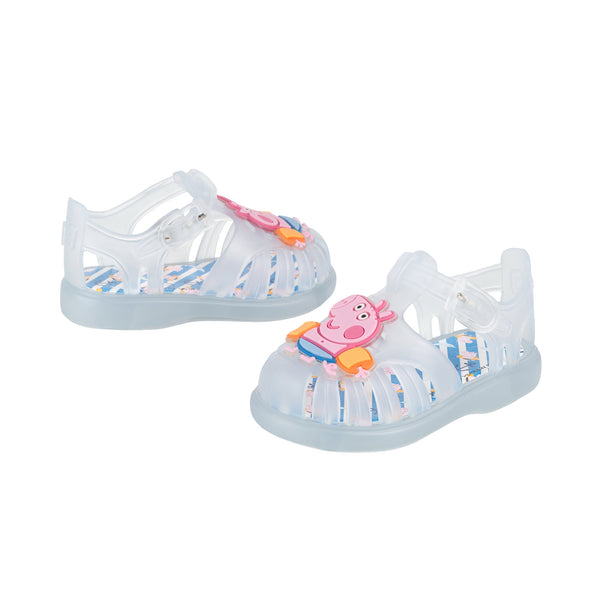 Girls & Boys Light Blue Jelly Shoes