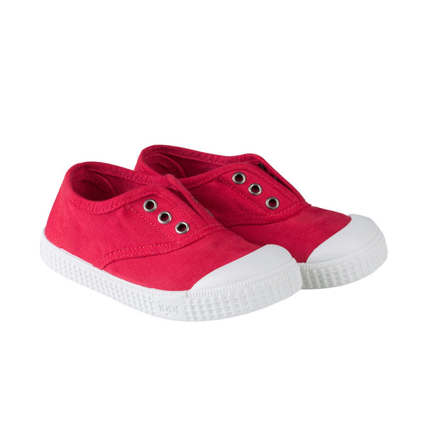 Girls Red Cotton Shoes