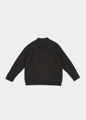 Boys & Girls Charcoal Sandpiper Cardigan