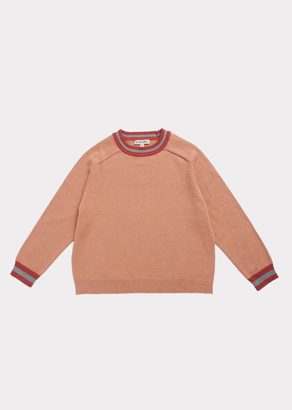 Girls Clay Cotton Sweater