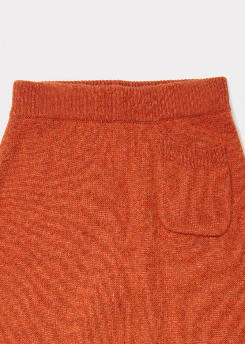 Girls Red Knitted Trousers