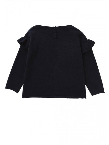 Girls Navy Blue Sweater