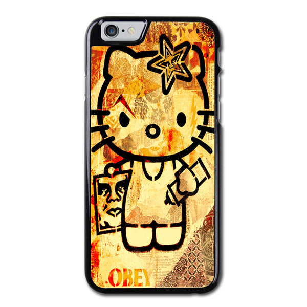 Hello Kitty Obey Design iPhone 6 Case