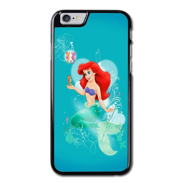 Little Mermaid And Seahorses iPhone 6 Case