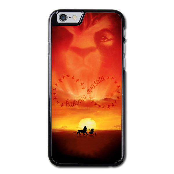 Hakuna Matata Lion King Symbol iPhone 6 Case